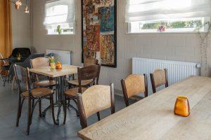 caféruimte voor dialogen